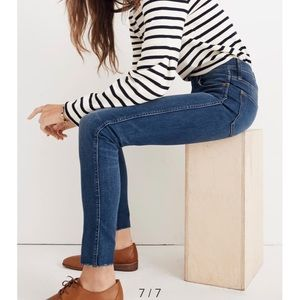 Madewell High Rise Paloma Wash Jeans